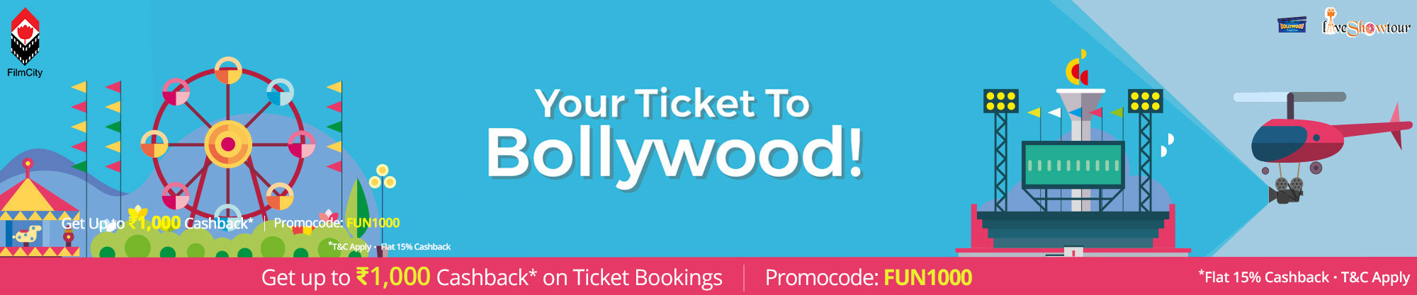 Mumbai Film City Tour in Mumbai – Find Ticket Price, Entry Fee and