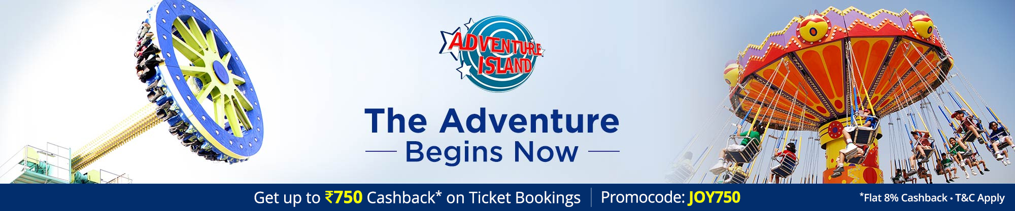 Adventure Island in Delhi – Find Ticket Price, Entry Fee and