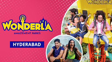 cashback on Wonderla Hyderabad