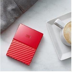 Buy WD My Passport 2 Tb External Hard Disk ( Red ) Online at