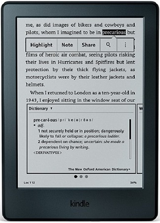 Buy Kindle Paperwhite 4 GB E-Book Reader 3G With Wi-Fi (Black