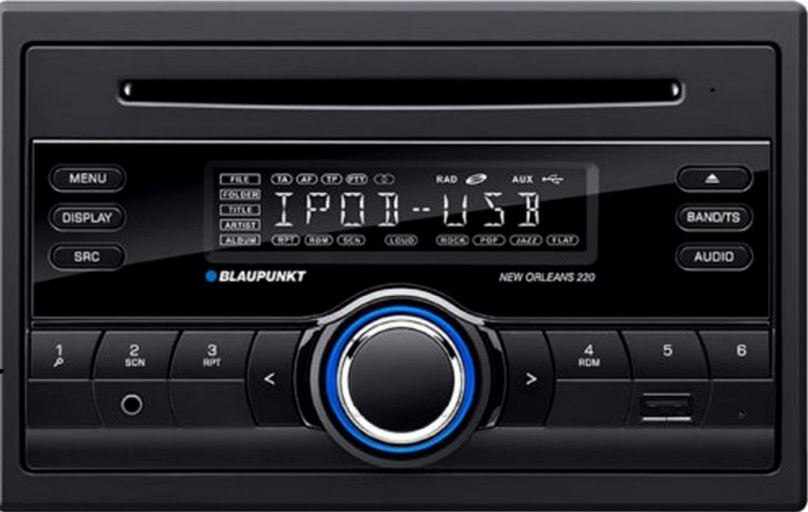 buy blaupunkt new orleans 220 car audio system double din 1 piece online at low prices in. Black Bedroom Furniture Sets. Home Design Ideas