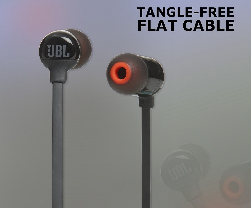 JBL T110BT In-ear Bluetooth Headsets ( Black )