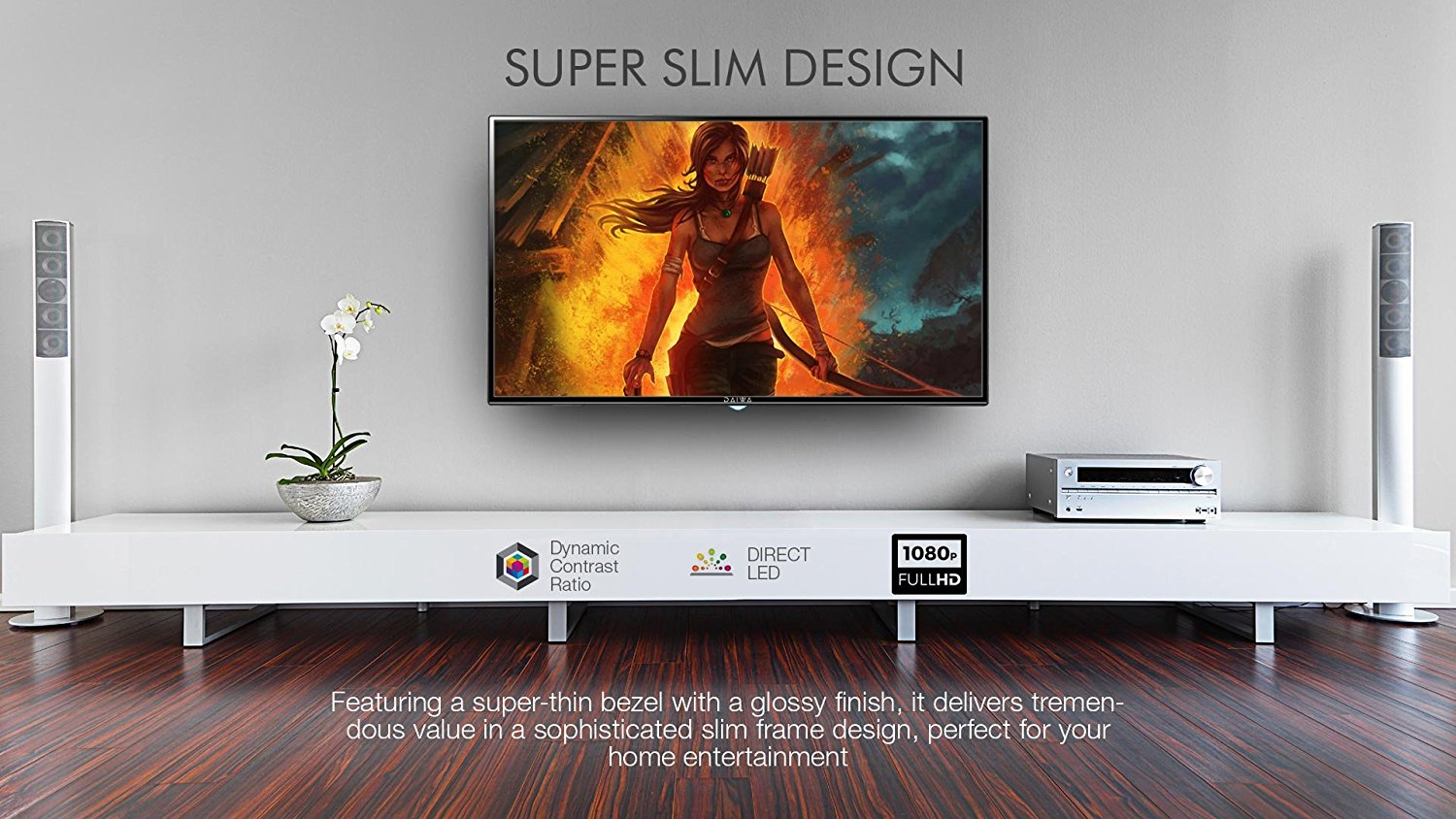 buy daiwa 122 cm 48 inch l50fvc5n full hd smart led tv online at low prices in india. Black Bedroom Furniture Sets. Home Design Ideas